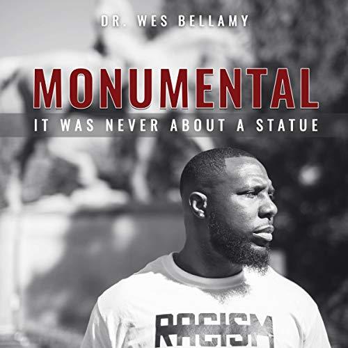 Monumental audiobook cover art