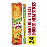 Slim Jim Giant Dill Pickle, 0.97 Oz (Pack Of 24)