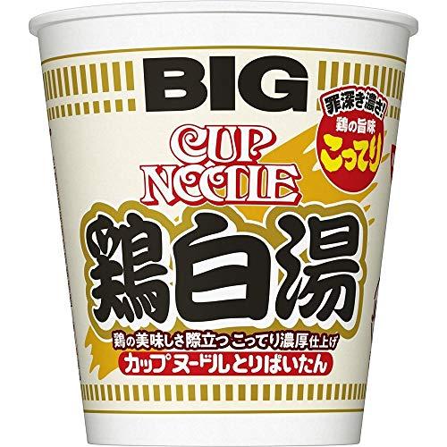 日清 カップヌードル 鶏白湯 ビッグ 105g ×12個