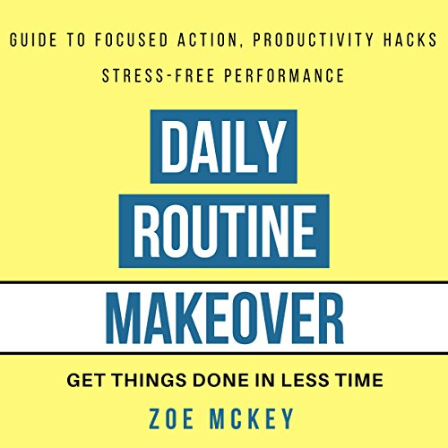 Daily Routine Makeover audiobook cover art