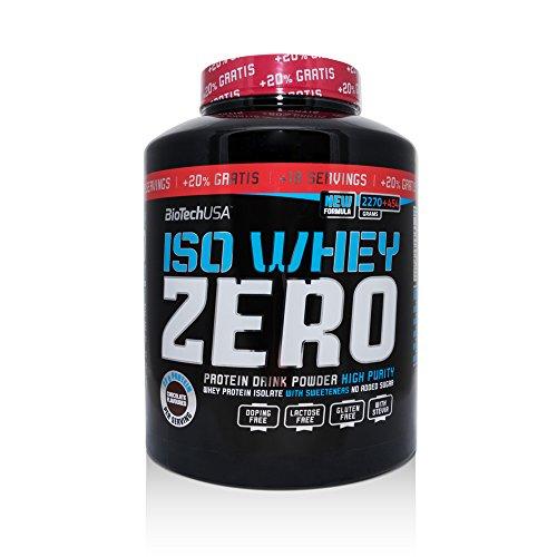 Iso Whey Zero 2270 g + 20% Free Cioccolato