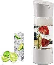 HXZB Maker Soda Siphon Portable, Faire l'eau Gazeuse pour Jus De Fruits Bubble Bricolage Gazéifiées Santé Boissons, No Bou...