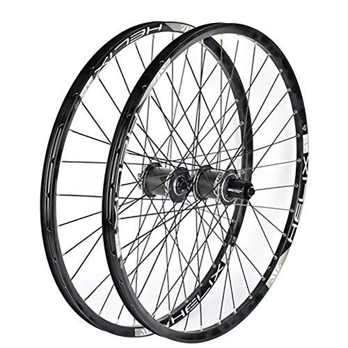 Juego de Ruedas Bicicleta,29 Pulgadas Ruedas de Carbono Cuatro Peilin Hub Eje de Aleación de Aluminio Apto para Bicicletas MTB Juego Ruedas Bicicleta C,29 Inch
