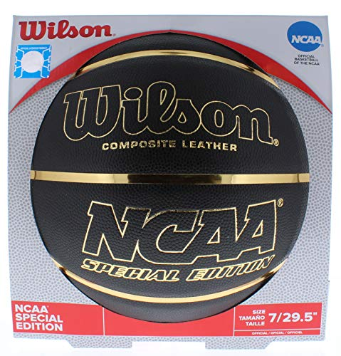 Great Price! Wilson NCAA Black and Gold Basketball Official Size 29.5