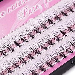 ZOUJIN 6/8/10/12/14mm Curl Natural Individual Cluster Eyelash False Eyelashes Extension (Color : 1 Box 12MM)
