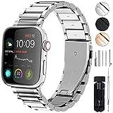 GerbGorb Cinturino Compatibile per Apple Watch, Cinturino in Acciaio Inossidabile per iWatch...