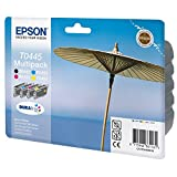 Epson C13T04454010 - Pack de 1 cartuchos de tinta, color