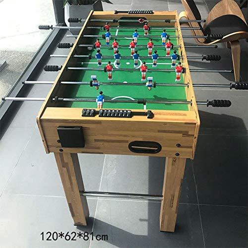 Professionelle Tischkicker Tisch Mit 8 Griffen,Holz Kickertisch Für Kinder Und Erwachsene,Tischfußball Spiel Für Home Party Freizeit C 120 * 62 * 81cm