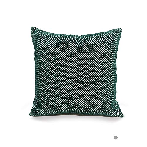 PPMP Funda de Almohada abrazadora Funda de cojín con Estampado geométrico sofá Cama decoración del hogar Funda de Almohada Abrazo Funda de cojín A3 45x45 cm 1pc