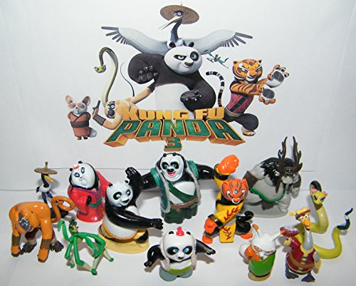 Kung Fu Panda 3 Movie Deluxe Figure Toy Buy Online In Macedonia At Desertcart