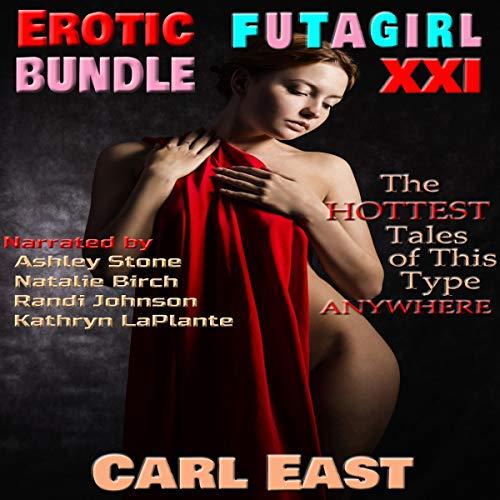 Erotic Futagirl Bundle XXI audiobook cover art
