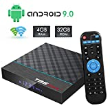 T95 MAX+ Android 9.0 TV Box, Smart Android Box 4GB RAM 32GB ROM