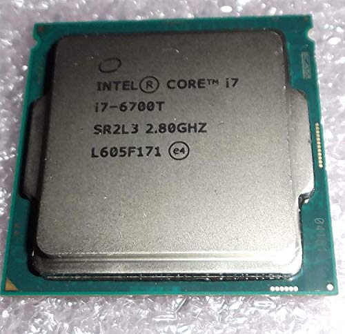 Intel Core i7–6700T Desktop-Prozessor 2.80 GHz Turbo Boost bis 3,60 GHz Quad Core Skylake OEM Tray CPU sr2l3 sspec cm8066201920202