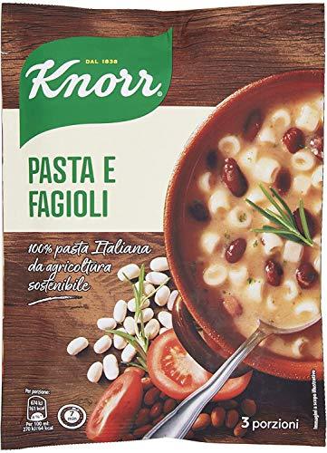 Knorr Pasta E Fagioli - Confezione Da 8 Pezzi - 1.46 kg