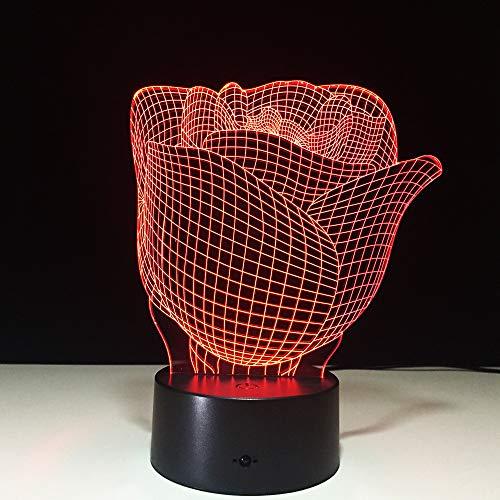 JYHW LED tafellamp Flower Usb 3D LED Night Light LED Battery LED Night Light accu Night Light voor kinderen