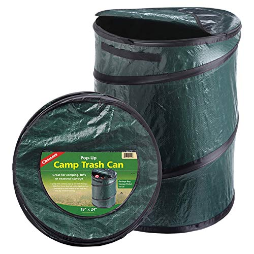 Practical camping gift pop up garbage can