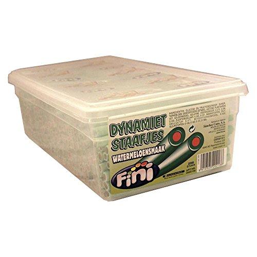Fini Dynamiet Staafjes Watermeloensmaak 250 Stck. Box (Fruchtgummi Wassermelone)