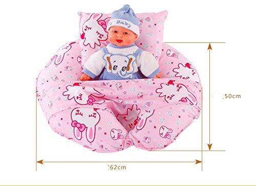 Treasure-House Allaitement maternel Oreiller de soins Pillow Multi-fonctionnel Coussin de bébé Alimentation L'Artefact O-type Grossesse Femmes Taille