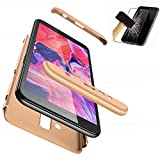 BIZHIKE 3 in 1 Case for Samsung Galaxy J2 Pro 2018,360 Full