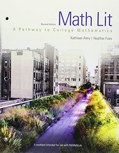 Math Lit plus MyMath Lab -- Access Card Package (2nd Edition) (Pathways Model for Math)