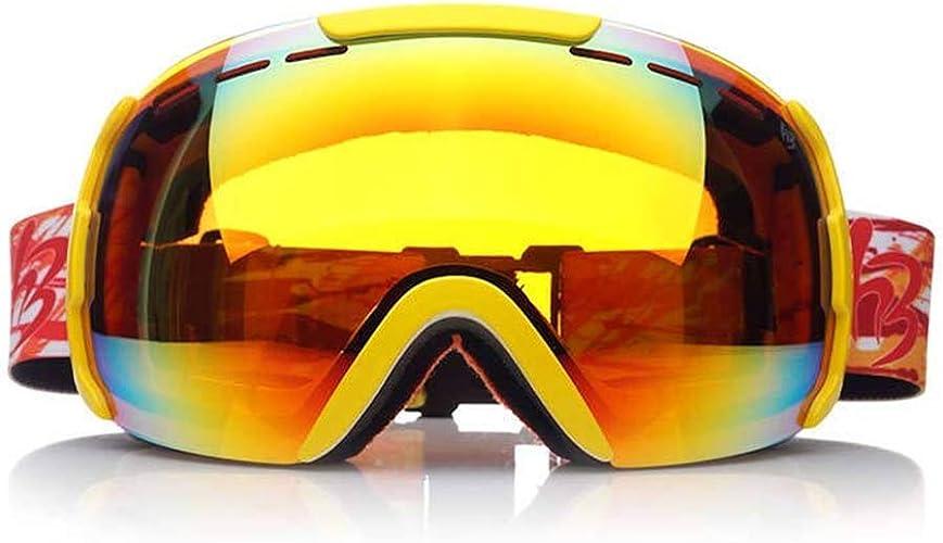 JBP Max Masques De Ski Lunettes De Sport Lunettes Lunettes De Ski pour Hommes Et Femmes