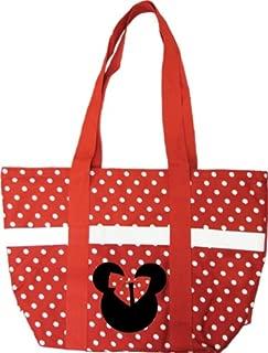 Minnie Poka Dot Large Tote Bag