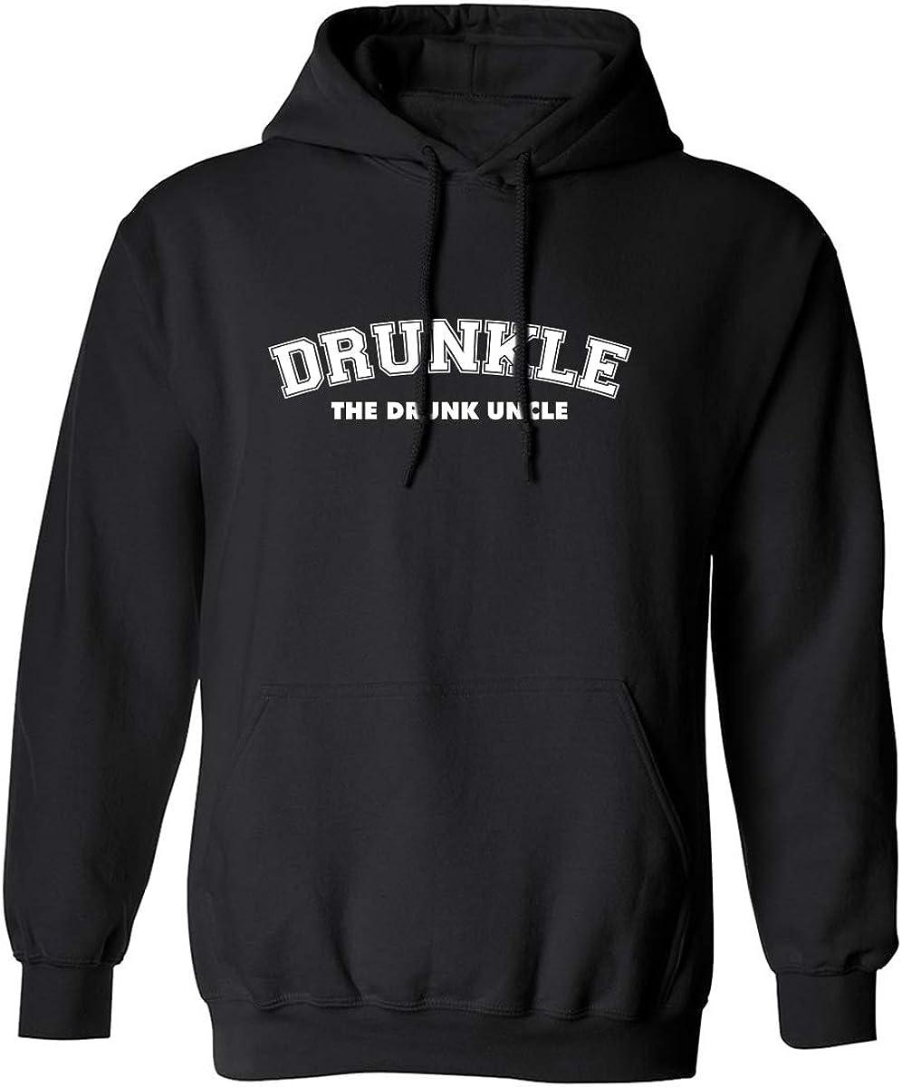 zerogravitee DRUNKLE The Drunk Uncle Adult Hooded Sweatshirt