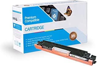 Ink Now Compatible Toner Replacement for HP CE310A, 126A, Works with: Color Laserjet CP1025, CP1025NW; Color Laserjet 100 MFP M175; Color Laserjet Pro 200 MFP M275 (Black)