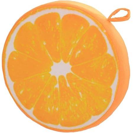 Stuhlkissen Durchmesser 32cm Rund Frucht Weiches Pl/üsch Kissenbezug Stuhlkissen f/ür Zuhause Garten oder Caf/é- Kiwi