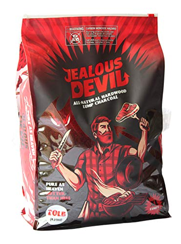 Jealous Devil All Natural Hardwood Lump Charcoal – 20LB