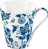 Creative Tops V and A - Taza (Porcelana de Ceniza de Hueso), diseño Floral, Color Blanco, 5125624