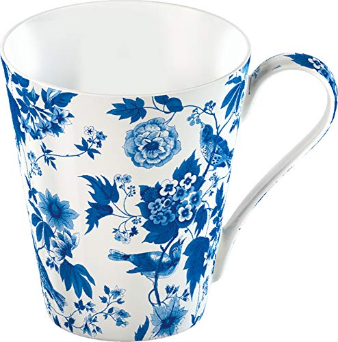 Creative Tops V and A - Taza (Porcelana de Ceniza de Hueso), diseño Floral, Color Blanco