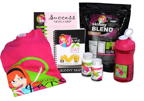 Skinny Jane 28 Day Challenge - Best Weight Loss Kit, Simple Eating Plan, Best Tasting Protein Shakes, Appetite Suppressant Fat Burner Supplements, Proven Weight Loss Results