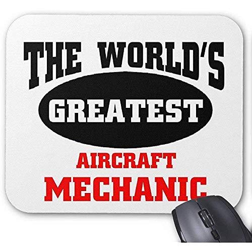 Grootste vliegtuigen Mechanic Gaming Mouse Pad 30X25CM