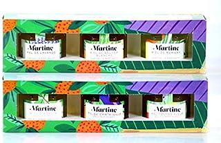 Coffrets cadeau Miels de France - 2 lots de 3 miels de dégustation