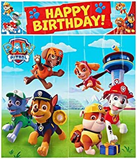 Party Centre Amscan Paw Patrol Scene Setter Decorating Kit, Multi Color