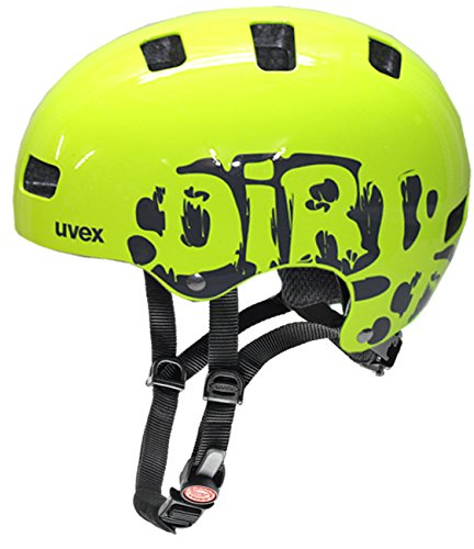 Uvex Kinder Kid 3 Radhelm (Dirtbike Neon-yellow, 51-55 cm)