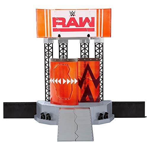 WWE - Escenario Wrekking Entrance para Figuras de Acción (
