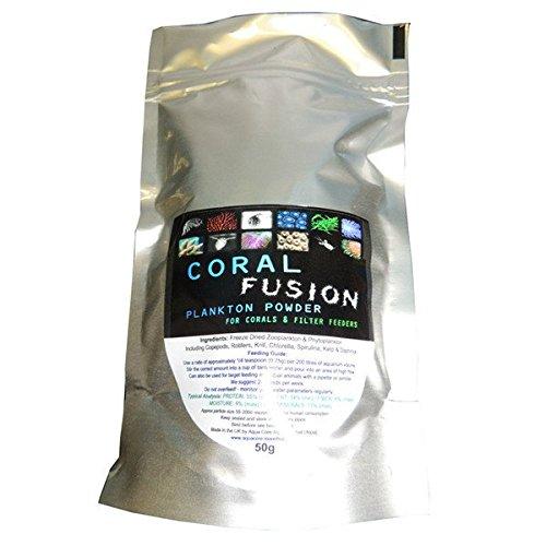 Coral Fusion - Poudre de plancton pour mangeoires filtrantes - Nourriture pour aquarium récif