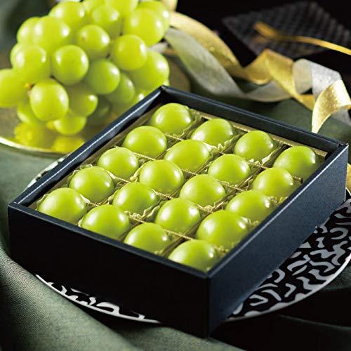 ぶどう シャインマスカット ジュエルセレクション 岡山県産 特秀 L 20粒 ギフト 葡萄 ブドウ