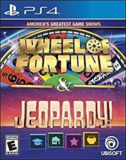 America`s Greatest Game Shows: Wheel of Fortune & Jeopardy - PlayStation 4 Standard Edition