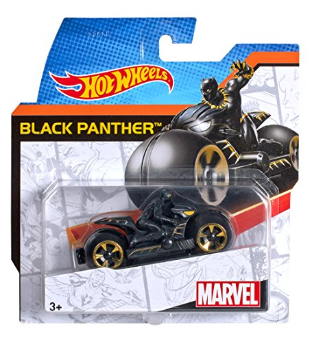 Mattel Hot Wheels Marvel Moto Ass.To 7 Modelli Djn18,...
