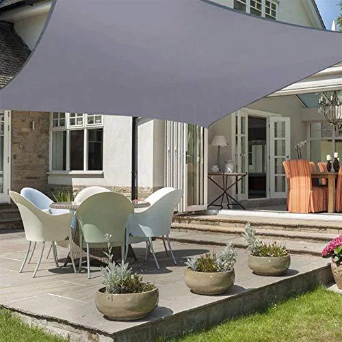 Parasol de tela para patio, rectangular, para patio, toldo para exteriores, verano, fiesta, playa, ocio