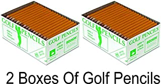 Integra Golf Pencil, 3-1/2-Inch Pre Sharpened, 144 per box (2 Boxes)