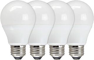 TCP Eco$ave LED 60 Watt Equivalent   4 Pack   Soft White (3000K) Shatter Resistent   730 Lumens   6,000 Hour   Non-Dimmable Light Bulbs