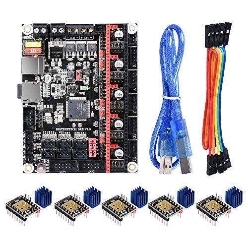 BIGTREETECH SKR V1.3 Control Board 32 Bit Board Smoothieboard with TMC2208 V3.0 UART 3D Printer Parts SKR V1.3 MKS GEN L Board