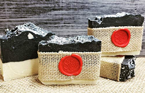 Goat Milk Soap ~ Magnesium Coal