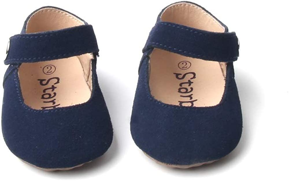 Starbie Baby Mary Jane - 6 Colors, Soft-Sole Baby Shoes, Baby Moccasins, Toddler Shoes, Toddler Mary Janes, Newborn Girl Shoes, Crib Shoes