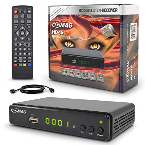 Sat Receiver Comag HD45 mit HDMI Kabel