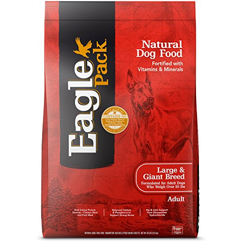 Eagle Pack Natural Dry Large Breed Dog Food, Chicken & Pork
